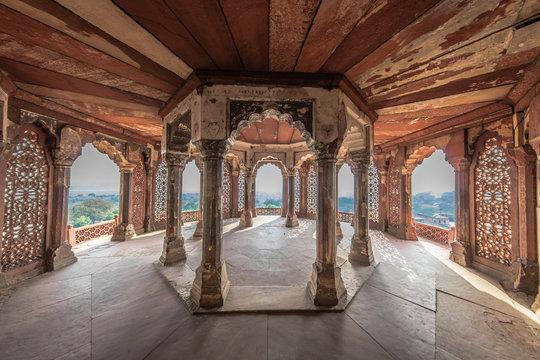 Inside Agra Fort