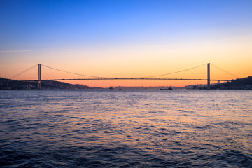Istanbul Türkei Sonnenuntergang