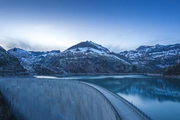 Swiss Alps landskape at Emosson