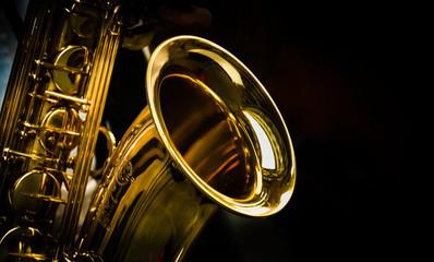 Saxophon Fotobehang