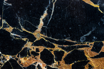 golden black marble texture pattern background