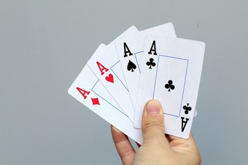 aces in hand