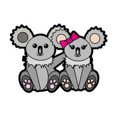 Koala cartoon design
