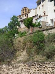 Todolella pueblo de Castellon en la Comunidad Valenciana, España, en la comarca de Los Puertos de Morella