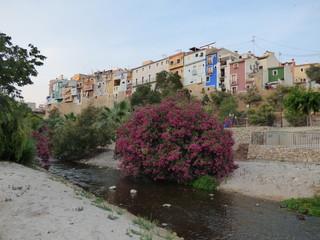 Villajoyosa (Alicante) Pueblo de la Comunidad Valenciana, España situado en la Costa Blanca