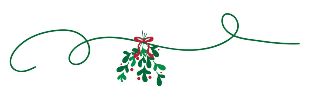 Merry Christmas Mistletoe