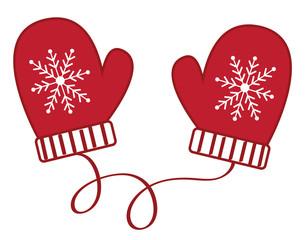 Christmas Winter Mittens
