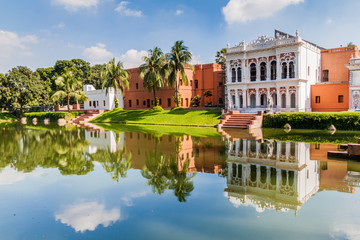 Sadarbari (Sardar Bari) Rajbari palace, Folk Arts Museum in Sonargaon town, Bangladesh.