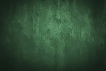 Chalkboard background empty green