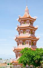 buddhist pagoda in Vietnam