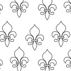 Lis flower design