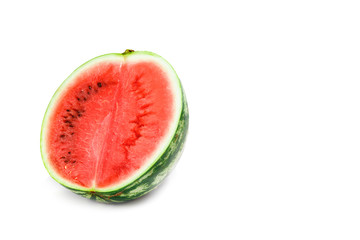 watermelon on white background, isolate.