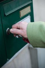 ouverture du courrier