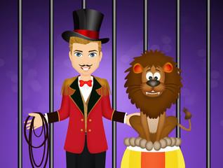 tamer of lions circus