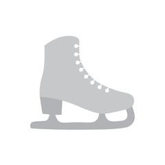 ice figure skate icon- vector illustration