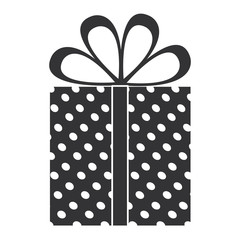 gift box present icon vector illustration design