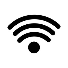 internet wifi connection symbolicon vector illustration  pictogram image