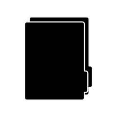 folder file archive document internet element vector illustration  pictogram image