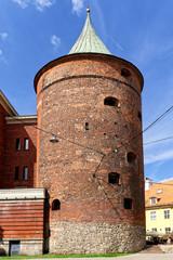 Pulverturm und Militärmuseum in Riga, Lettland