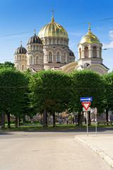 Geburtskathedrale in Riga, Lettland