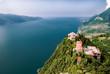 Gardasee, recht im Bild Monte Castello