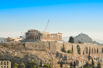 Wall Mural - Parthenon Acropolis in Athens  Greece