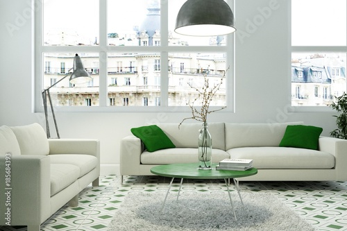 quotwohnzimmer gelb gr252nquot stock photo and royaltyfree images