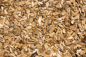 Wood chips texture.