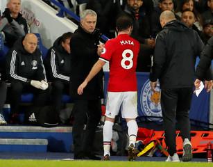 Premier League - Leicester City vs Manchester United