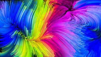 The Meditations on Liquid Color