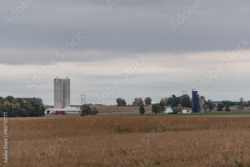 Dairy Farms Background Stock Photo And Royalty Free Images On
