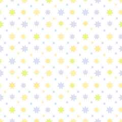 Abstract Seamless Pattern with stars. Can be used for textile, website background, book cover, packaging.