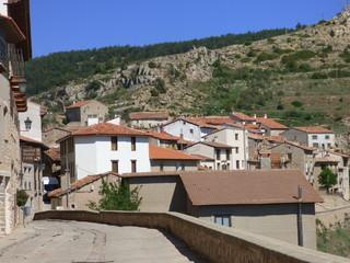 Teruel. Pueblo de Gudar en la Comunidad Autónoma de Aragón, España