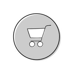 Cart shopping icon
