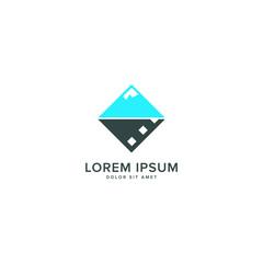 blue mountain photography logo