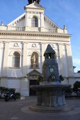 Church of Good Samaritan at the main square in Pecs Hungary