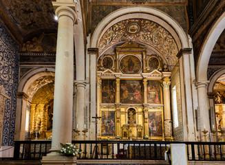 Church of Santa Maria in Obidos, Portugal