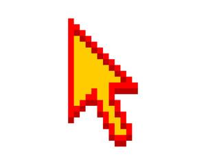 arrow cursor icon pointer mouse internet web network image vector