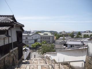 高所から見た倉敷美観地区