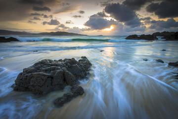 Amazing Sunset on Galicia Coast