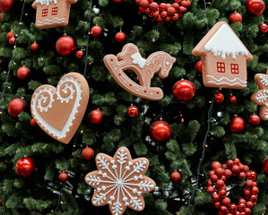 gingerbread, Christmas decoration for a Christmas tree, gingerbread stuffs