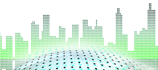 Smart City- creating an environment in which citizens are interconnected background
