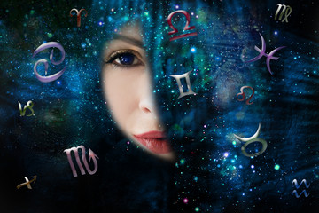 Twelve zodiac signs