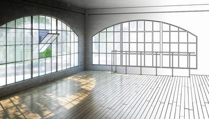 Empty Postindustrial Area (draft)