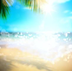 Keuken foto achterwand Oceanië sea summer vacation; tropical beach background