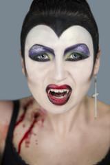 woman dangerous vampire