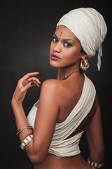 Portrait of egypt woman