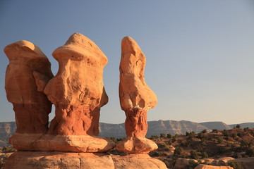 Devils Garden in Grand Staircase Escalante National Monument in Utah, USA
