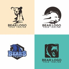 Bear Logo Vector Art