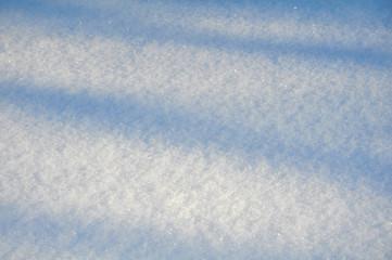 White shining snowy background